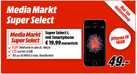 LTE iPhone SE Tarif